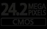 24.2 megapixel
